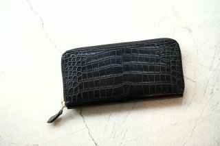 【ご予約】Cisei × 山本製鞄 Crocodile Long Wallet (クロコダイル ロング ウォレット)