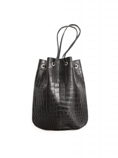 【ご予約】Cisei × 山本製鞄 Crocodile Bag (クロコダイル バッグ) 巾着