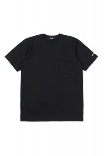 FIXER (フィクサー) FTS-01 2 Print Crew Neck T-shirt 2プリントTシャツ BLACK (ブラック)