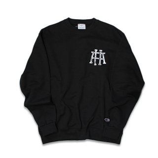 <img class='new_mark_img1' src='https://img.shop-pro.jp/img/new/icons1.gif' style='border:none;display:inline;margin:0px;padding:0px;width:auto;' />HIGHAURA : LOGO SWEATSHIRT