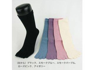 EMソックス 婦人オールシーズン(5本指) 22〜24cm