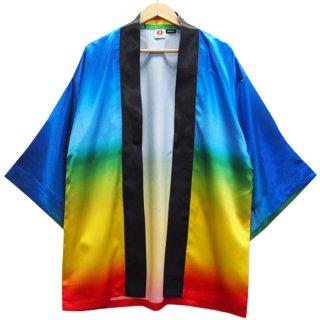 [Happi.Tokyo]オリジナルデザインはっぴ(法被)-レインボー -Rainbow-