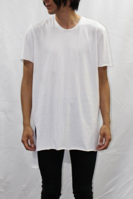 『gene par YUKIO MISHIBA』Collaboration Cut-off  Asymmetry Tee shirts