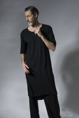 『gene par YUKIO MISHIBA』Collaboration Cut-off Super Long Cut-sew