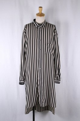 【先行予約】Stripe Desine Big Long Shirts【ポイント5倍】