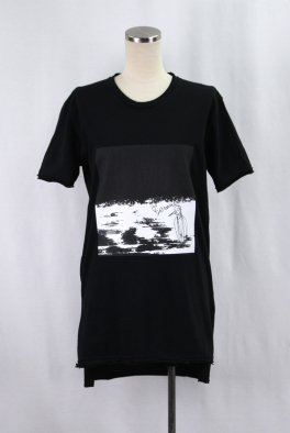 『KITSUNE』Collaboration Cut Off Loose Tee