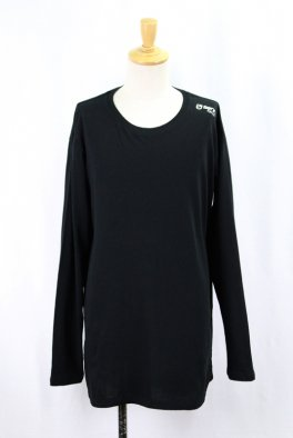 BT Logo   Hem Step Round Long sleeveTee