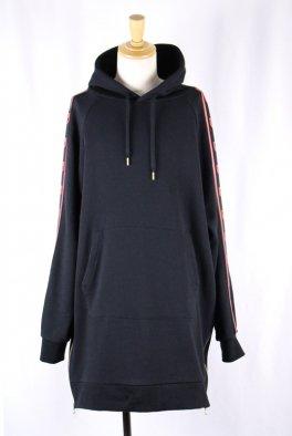 Bennu Logo line Long Hoodie