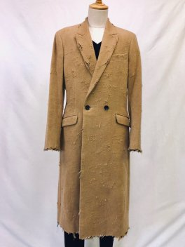 RESURRECTION Collaboration  Crash Semi double Long Coat