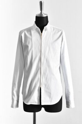 100S broad short color zip Shirt
