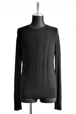 RT Silk jacquard Knit CN-PO