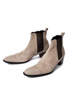 Side Gore Heel Boots