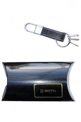 Bennu LOGO Leather Keyholder