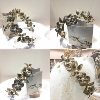 Flora Head Dresss + Earring set | 花冠 フローラヘッドドレス + イヤリングセット