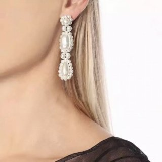 ミルキーパールピアス 【Petit Couleurire】 Milky Pearl Earrings / Needle type