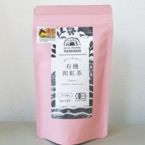 有機紅茶ティーバッグ:36g(宝箱)