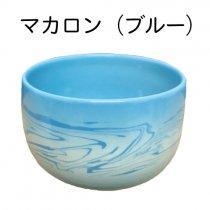 Matsue Chatte(ラテ茶碗単品):マカロン ブルー(出雲本宮焼 高橋幸治窯)