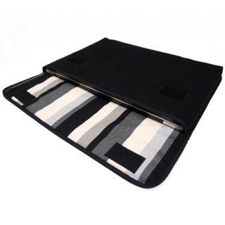 MacBook Pro 13インチRetinaディスプレイ インナーケース:FILO(ブラック・グレーストライプ)