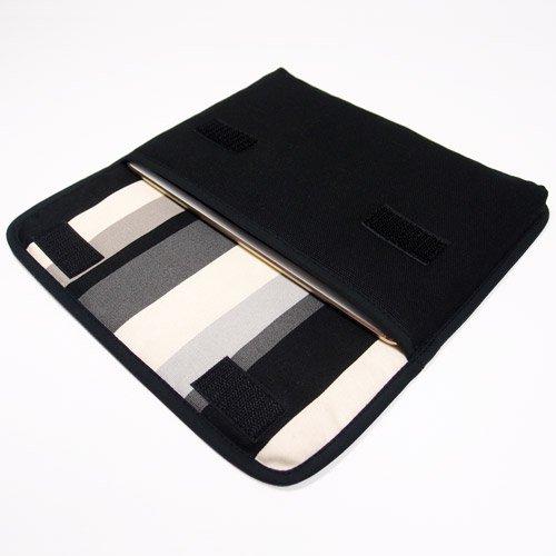 iPad miniケース:FILO(ブラック・グレーストライプ)for  Early 2019