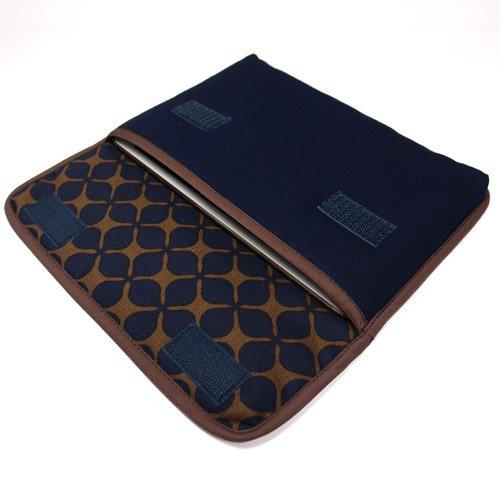 iPad mini4ケース:FILO(ネイビー・キャロル)