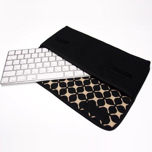 Apple Magicキーボードケース(ブラック・キャロル)