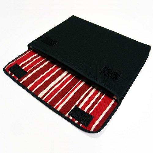 dynabook RX73ケース:FILO(ブラック・ボルドーストライプ)
