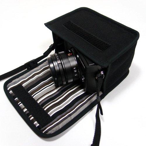 LUMIX GX7 Mark IIIケース(ブラック・アルバグレイ) --単焦点ライカDGレンズ用