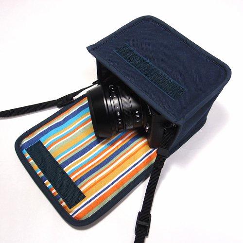 LUMIX GX7 Mark IIIケース(ネイビー)--単焦点ライカDGレンズ+レンズフード用