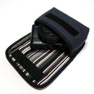 ソニーサイバーショット DSC-RX100M6ケース(チャコール)