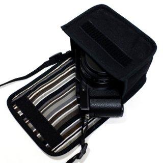 LUMIX LX100M2ケース(ブラック・アルバグレイ)