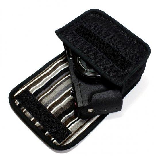 PowerShot G5X Mark IIケース(ブラック・アルバグレイ)