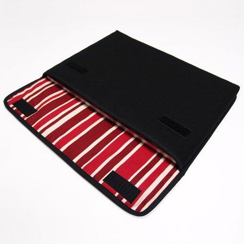 MacBook Pro 16 インチケース:FILO(ブラック・ボルドーストライプ)