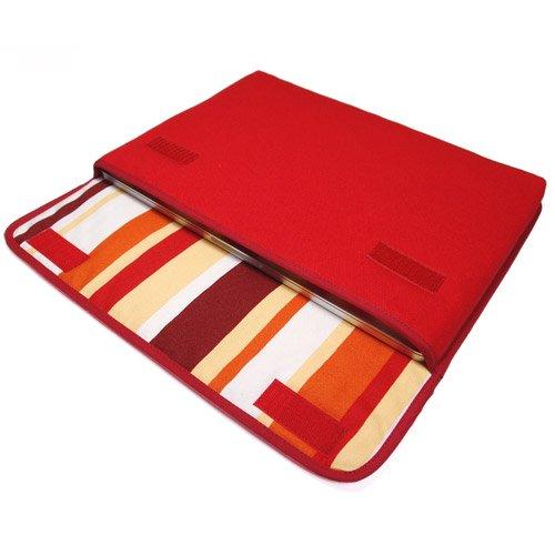 MacBook Pro 16 インチケース:FILO(レッド・オレンジストライプ)