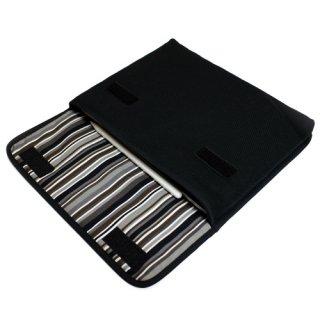 11インチ iPad Proケース・Lサイズ「FILO」(ブラック・アルバグレイ)