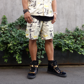 天龍源一郎×HAOMING SHORT PANTS