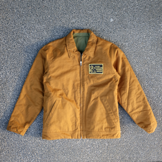 <img class='new_mark_img1' src='//img.shop-pro.jp/img/new/icons15.gif' style='border:none;display:inline;margin:0px;padding:0px;width:auto;' />BEADS & WAPPEN REVERSIBLE BLOUSON