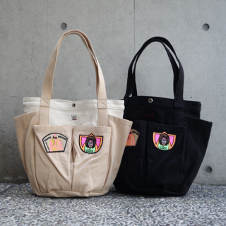 <img class='new_mark_img1' src='//img.shop-pro.jp/img/new/icons15.gif' style='border:none;display:inline;margin:0px;padding:0px;width:auto;' />HAOMING×RANDY SAVAGE&ULTIMATE WARRIOR TOTE BAG