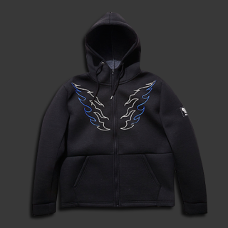 <img class='new_mark_img1' src='//img.shop-pro.jp/img/new/icons20.gif' style='border:none;display:inline;margin:0px;padding:0px;width:auto;' />【30%OFF】NEOPRENE ZIP HOODIE