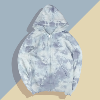<img class='new_mark_img1' src='//img.shop-pro.jp/img/new/icons15.gif' style='border:none;display:inline;margin:0px;padding:0px;width:auto;' />DYE BIRD MASK ZIP HOODIE