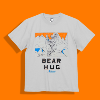 <img class='new_mark_img1' src='//img.shop-pro.jp/img/new/icons15.gif' style='border:none;display:inline;margin:0px;padding:0px;width:auto;' />BEAR HUG Tshirt