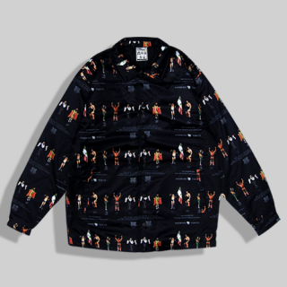 <img class='new_mark_img1' src='//img.shop-pro.jp/img/new/icons15.gif' style='border:none;display:inline;margin:0px;padding:0px;width:auto;' />WWE LEGENS×HAOMING Coach Jacket
