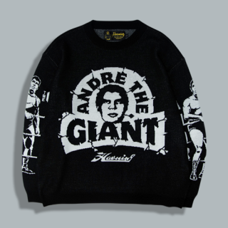 <img class='new_mark_img1' src='//img.shop-pro.jp/img/new/icons15.gif' style='border:none;display:inline;margin:0px;padding:0px;width:auto;' />Andre The Giant Haoming Knit