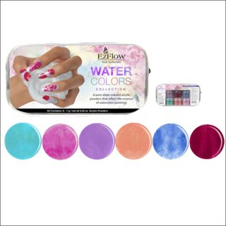 <font color=red>●9/25まで15%OFF!</font><br />EzFlow Water Colorsパウダーセット(デザインカラー)