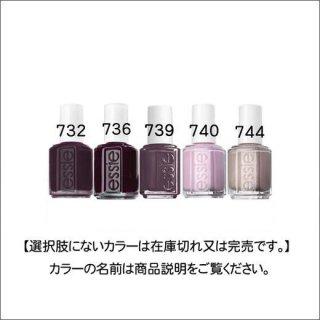 ●essie エッシー 731-744番