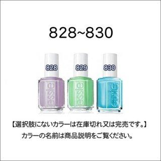 ●essie エッシー 827-830番