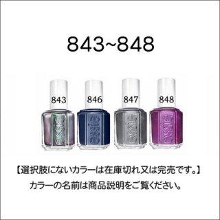●essie エッシー 843-848番