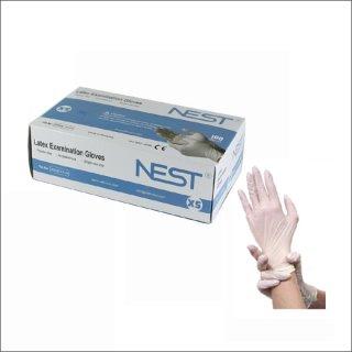 ゴム手袋Mサイズ 1BOX-100枚セット