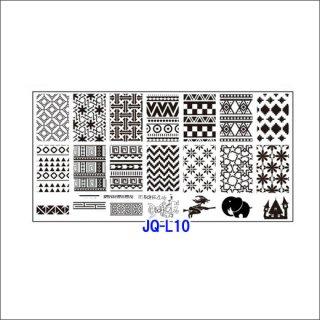 ◆<font color=blue>特別セール!20%OFF </font><br />ホワイトスタンピングプレート JQL10