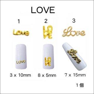 ◆<font color=blue>特別セール!20%OFF </font><br />3Dメタルユニーク LOVE