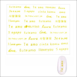 <img class='new_mark_img1' src='//img.shop-pro.jp/img/new/icons15.gif' style='border:none;display:inline;margin:0px;padding:0px;width:auto;' />1/3入荷!<br />シールLoveゴールドHBJY